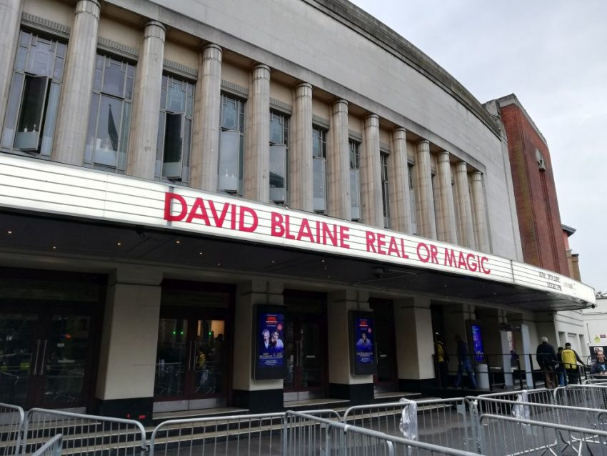 mind over matter david blaine live london